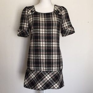 Paul Smith Collection Plaid Wool Dress